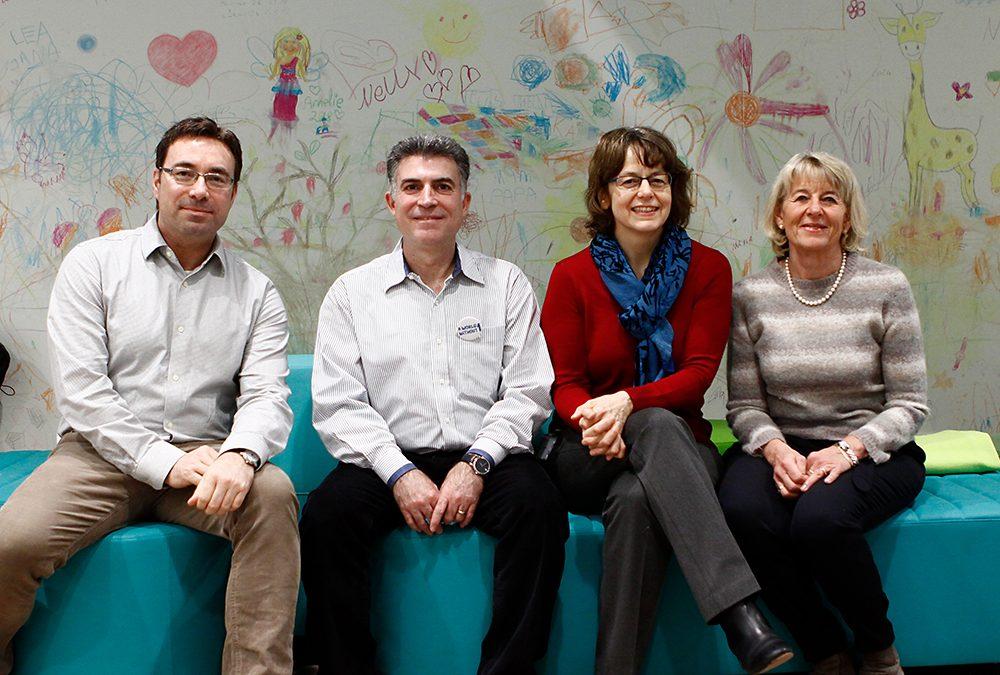 Eli Lilly and Company besucht das neue Studienzentrum des Instituts für Diabetesforschung